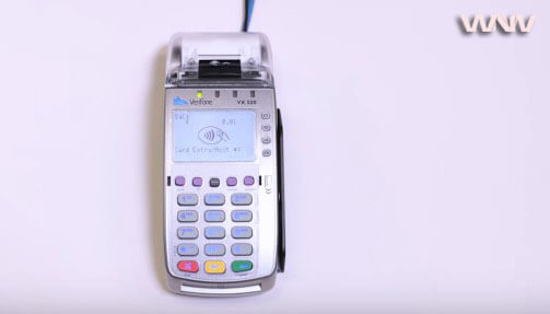 Fix VERIFONE credit card machine not working