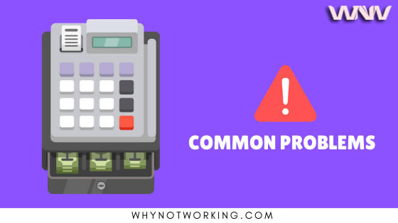 Why pos machine is not working