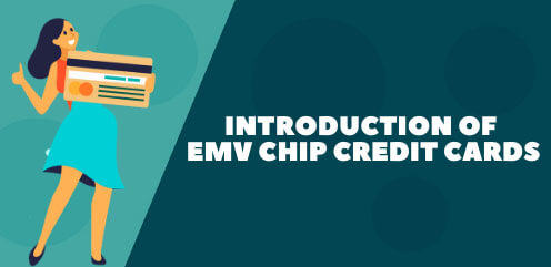 Introduction of chip credit cards