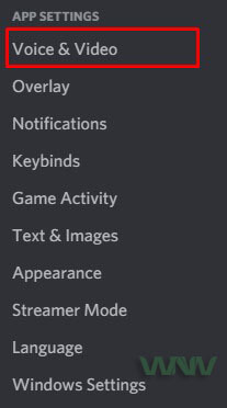Discord Voice&Video Tab