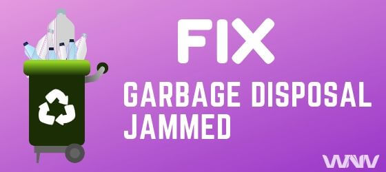how to fix a Jammed Disposal