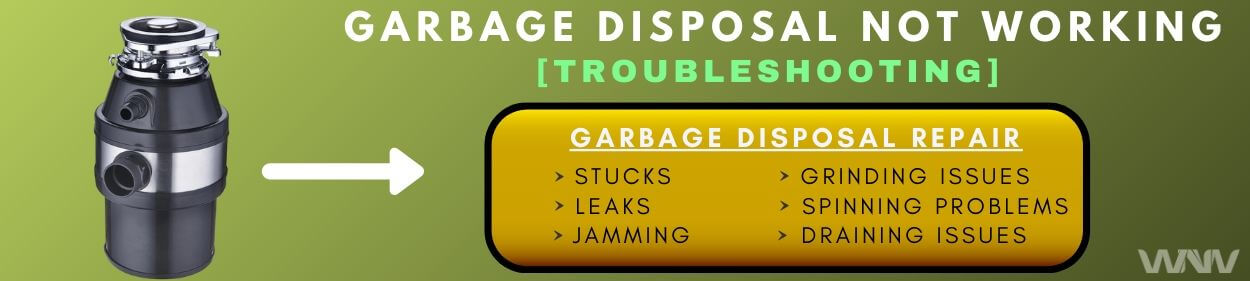 garbage disposal not working fixed