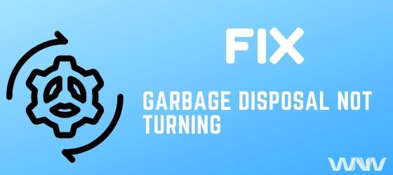 how to fix a garbage disposal won't turn