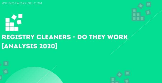 Registry Cleaners
