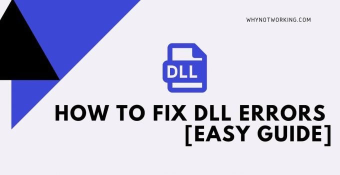 How to fix DLL Errors