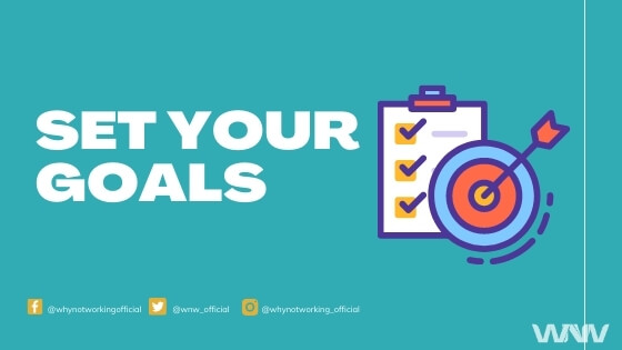 set goals to become a successful blogger