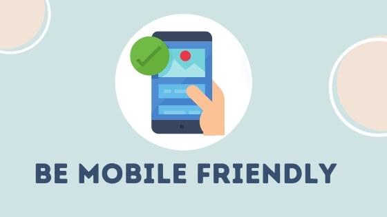 Be Mobile Friendly for Branding