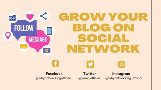 social media marketing for blog's success