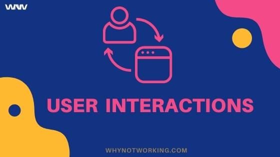 Blogging Tip: User Interactions