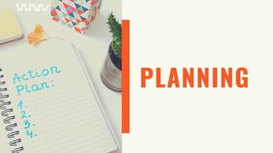 Planning for Make Money Blogging