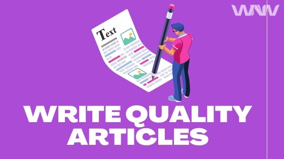 write quality articles